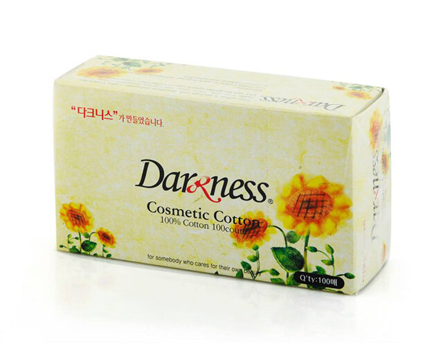 Bông tẩy trang Darkness 1437 (hộp) - cho làn da sạch