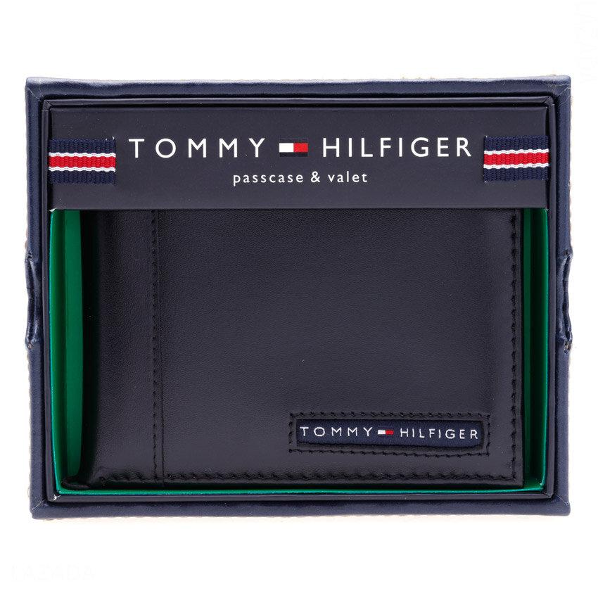 Bóp, ví nam da Tommy Hilfiger Men's Cambridge Passcase