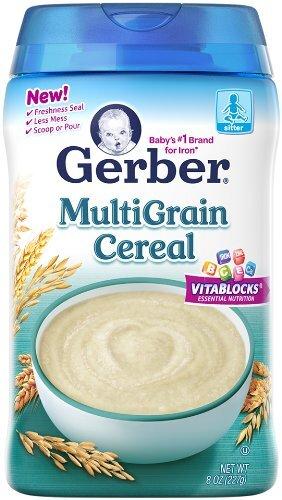 Bột ăn dặm Gerber vị ngũ cốc