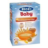 Bột ăn dặm Hero Baby vị 8 loại ngũ cốc và mật ong