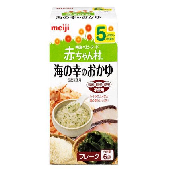 Bột ăn dặm Meiji vị cháo cá và rong biển cho trẻ từ 5 tháng trở lên