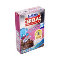 Bột ăn dặm Nestle Cerelac gạo lức trộn sữa hộp 200g