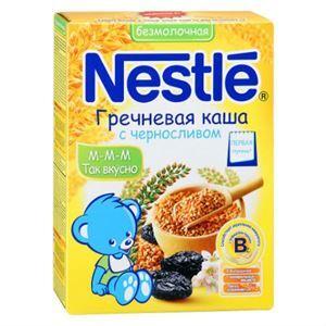 Bột ăn dặm Nestle Nga kiều mạch và mận khô cho bé từ 6 tháng – 200g