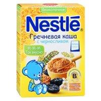 Bột ăn dặm Nestle Nga kiều mạch và mận khô cho bé từ 6 tháng - 200g