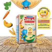 Bột ăn dặm rau xanh và bí đỏ Nestle - 200g