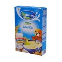 Bột ăn dặm Ri-Alpha Gạo sữa Vinamilk - hộp 350g (6-24 tháng)