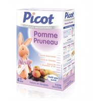 Bột ăn dặm vị táo và mận Picot (200g)