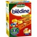 Bột Bledina bánh mỳ, mật ong – hộp 240g (dành cho trẻ trên 8 tháng tuổi)