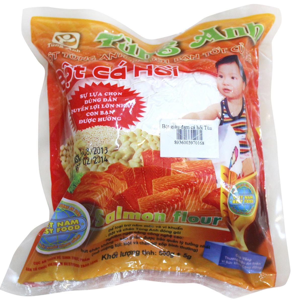 Bột cá hồi Tùng Anh