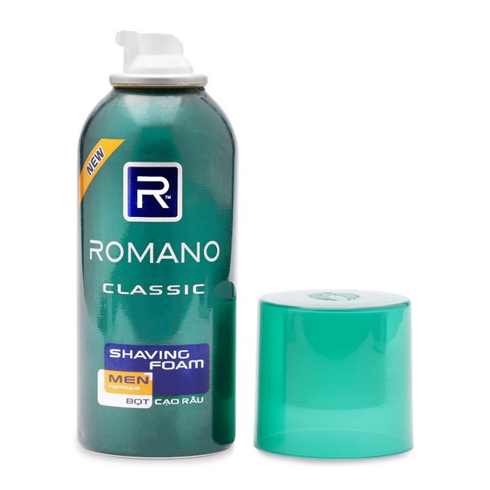 Kết quả hình ảnh cho Kem cạo râu Romano