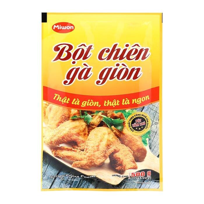 Bột chiên gà giòn Miwon gói 35g