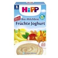 Bột dinh dưỡng HIPP sữa chua hoa quả nhiệt đới 8M+