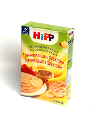 Bột dinh dưỡng kiều mạch hoa quả HiPP - 250g