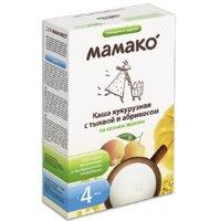 Bột dinh dưỡng ngô, bí đỏ, mơ với sữa dê Mamako - hộp 200g