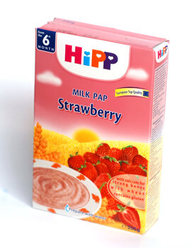 Bột dinh dưỡng sữa dâu tây HiPP - 250g