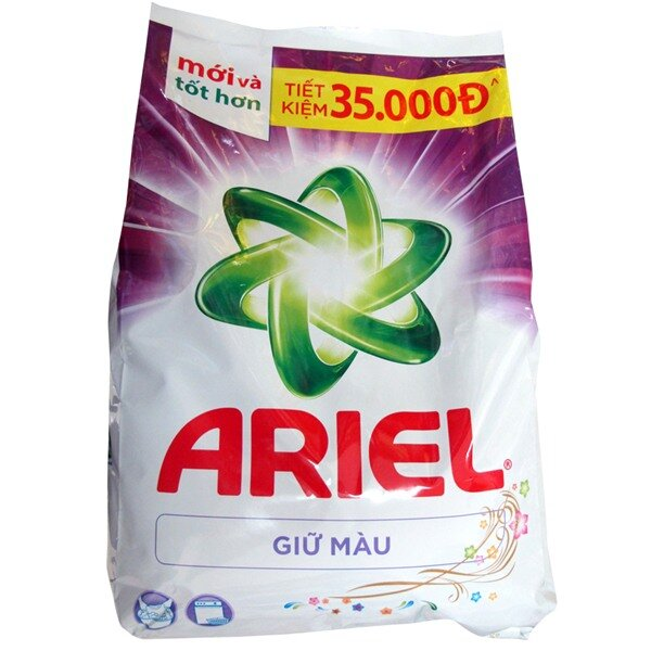 Bột giặt Ariel giữ màu - túi 4.1 kg