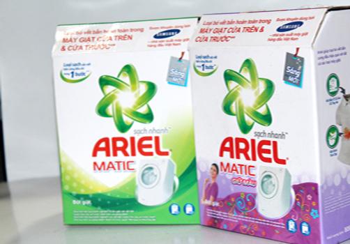 Bột giặt Ariel matic sạch nhanh giữ màu 4.5kg