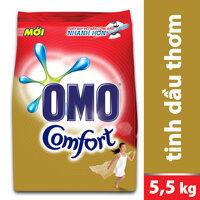 Bột giặt Omo Comfort dạng túi 5.5kg