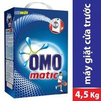 Bột giặt OMO cửa trước 4.1kg/ 4.5kg