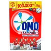 Bột giặt Omo Matic cửa trên - hộp 4.5kg
