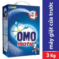 Bột giặt Omo Matic - Máy Giặt Cửa Trước 3kg