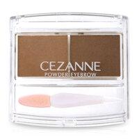 Bột kẻ lông mày Cezanne Powder Eyebrow R Soft Brown nâu nhạt