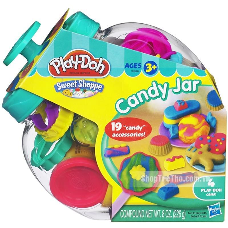 Bột nặn Thế giới bánh kẹo Play Doh 38984