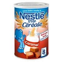 Bột ngũ cốc ăn dặm Nestle vị caramel - 400g