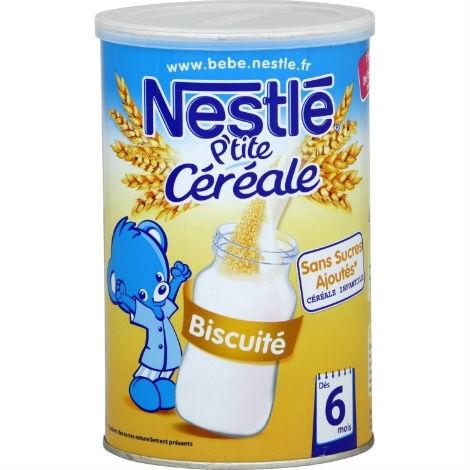Bột ngũ cốc ăn dặm Nestle vị bích quy biscuite – 400g