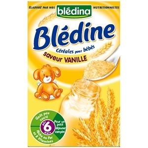 Bột ngũ cốc ăn dặm pha sữa Bledina vị vani – 500g (6m+)