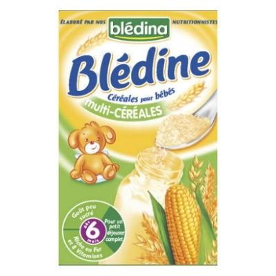 Bột ngũ cốc ăn dặm pha sữa Bledina vị tổng hợp – 500g