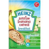 Bột ngũ cốc ăn sáng Heinz vị chuối (dành cho trẻ từ 4 tháng tuổi)