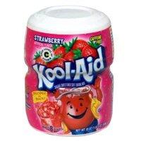 Bột pha nước trái cây Kool-Aid vị dâu tây - 538g