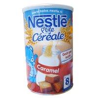 Bột pha sữa Nestle vị caramel 8m+ (400g)