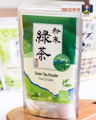 Bột trà xanh Funmatsucha Yanoen 500g
