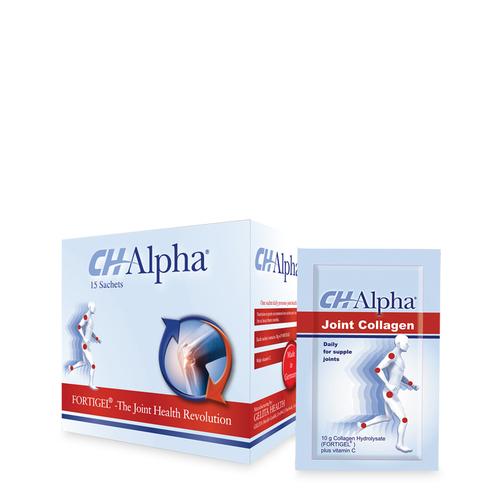 Bột uống chống thoái hóa khớp CH Alpha Collagen Fortigel hộp 15 gói