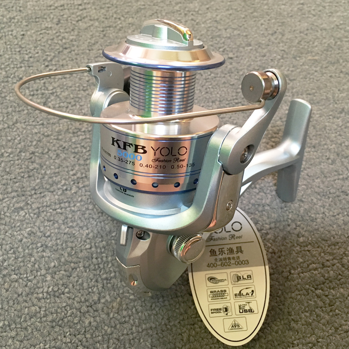 Máy câu cá yolo KFB 5000