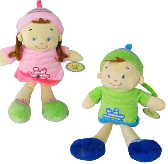 Búp bê bé gái và trai bằng bông Carter's