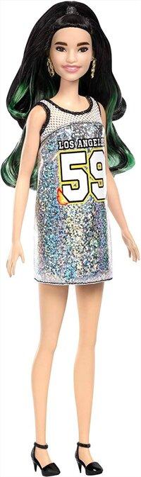 Búp Bê Thời Trang Fashionista Barbie - Ánh Bạc Năng Động