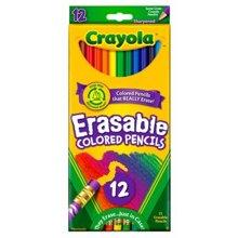 Bút chì có thể tẩy được Crayola684412A009 - 12 màu