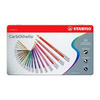 Bút chì màu đa năng Stabilo CarbOthello CLC1460M (60 màu/hộp)