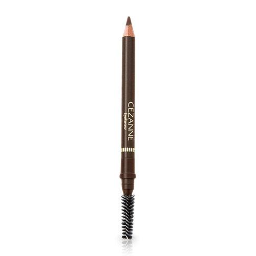 Bút kẻ lông mày Cezanne Eyebrow with Spiral Brush Natural Brown 1.2g