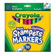 Bút lông đầu hình tem dấu - Crayola 5881400003