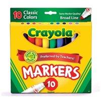 Bút lông nét dày Crayola5877228015 - 10 màu