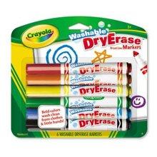 Bút lông viết bảng 6 màu Crayola 9858060000