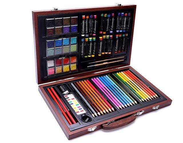 Bút màu hộp gỗ đa năng M83 Colormate MS - 83W