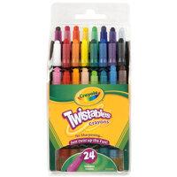 Bút sáp dạng vặn Crayola5297241001 - 24 màu