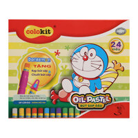 Bút sáp dầu Thiên Long Doraemon OP-C09/DO (24 màu)