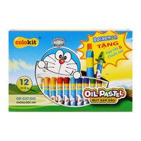 Bút sáp dầu Thiên Long Doraemon OP-C07/DO (12 màu)