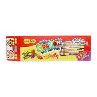 Bút sáp màu Crayon Colokit Thiên Long CR-C021 hộp 24 màu